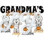 Personalized Mommy's Mummy Halloween Gown