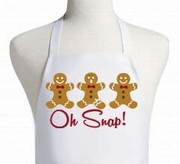 Gingerbread Oh Snap Apron