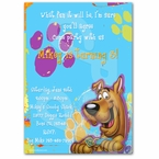 Personalized Scooby Doo Invitations