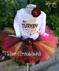 Personalized  Thanksgiving tutu Set