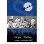 Photo personalized holiday greeting card