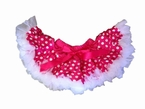 Pink and White Minnie Mouse Polka dot Pettiskirt
