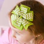 Pinwheel Hair Bow