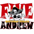 Pirate Personalized Birthday t-shirt
