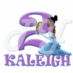 Princess and the Frog Personalized Birthday t shirt
