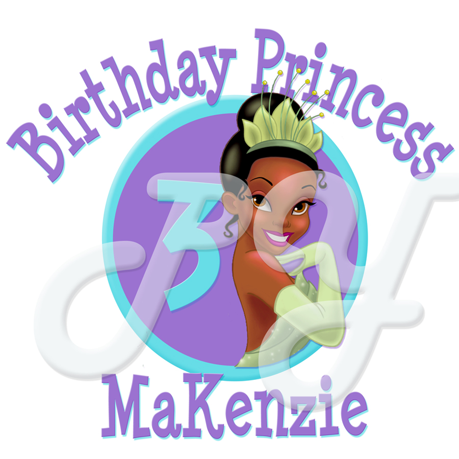 Princess and the Frog Personalized T shirt