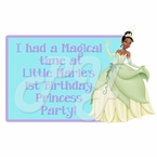 Princess and the Frog Personalized Party Favor