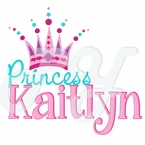 Princess Crown Personalized t-shirt