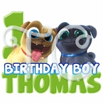 Puppy Dog Pals personalized Birthday shirt