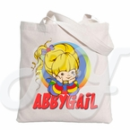 Rainbow Brite personalized tote bag