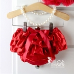 Red Satin bloomers