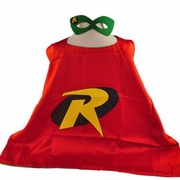 Robin Superhero Cape and Mask Set