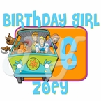 Scooby Doo personalized birthday t shirt