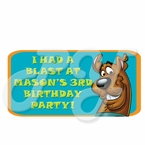 Scooby Doo Personalized Party Favor