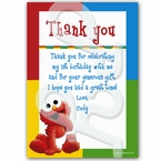 Sesame Street personalized thank you cards