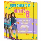 Shake it Up Personalized Invitations