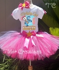 Sheriff Callie's Wild West Personalized Birthday tutu set
