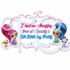 Shimmer and Shine Personalized Party Favor