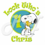 Snoopy Personalized Birthday t shirt