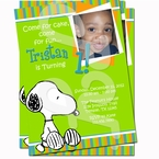 Snoopy Personalized Invitations