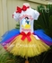 Snow White Glitter Personalized Birthday tutu dress set