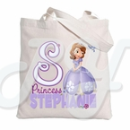 Sofia the First Personalized Canvas Tote Bag