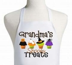 Spooky Treats Personalized Cupcake Apron