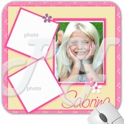Spring Flower 3 Photo personalized mouse pad