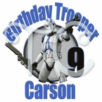 Star Wars Stormtroopers personalized birthday t shirt