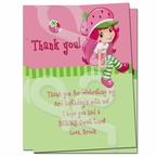 Strawberry Shortcake Personalized Thank you cards