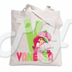 Strawberry Shortcake personalized tote bag