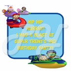Super Why Personalized Party Favor