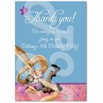 Tangled personalized thank you cards