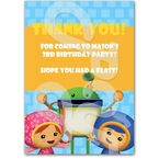 Team Umizoomi personalized thank you cards