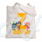 Team Umizoomi personalized tote bag