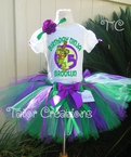 Teenage Mutant Ninja Turtles Personalized birthday tutu set