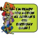 Teenage Mutant Ninja Turtles Personalized Party Favor
