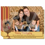Thanksgiving Photo Greeting card