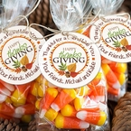 Thanksgiving Stickers and Tags