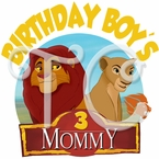The Lion Guard Personalized Family Birthday t shirt