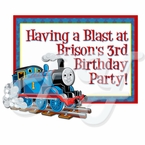 Thomas the Train Personalized Party Favor