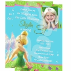 Tinkerbell Personalized Invitations