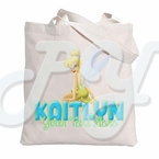 Tinkerbell Personalized Tote bag