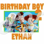 Toy Story personalized birthday t shirt