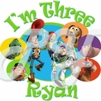 Toy Story Personalized Birthday t-shirt