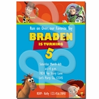 Toy Story Personalized Invitations