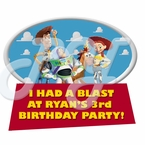 Toy Story Personalized Party Favor