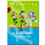 Toy Story Personalized thank you cards