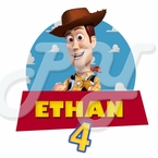 Toy Story Woody personalized t shirt
