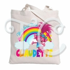 Trolls Polly Personalized Canvas Tote Bag
